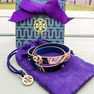 Tory Burch Happy Times Reversible Wrap Bracelet